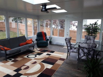 B Wise Contractors Interior Sunroom Pic